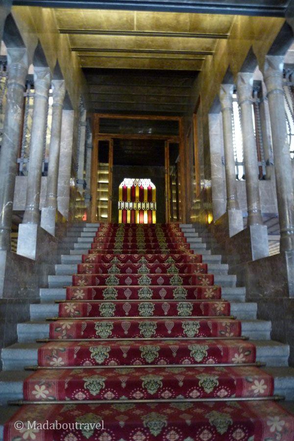 Escalinata del Palau GüellEscalinata del Palau Güell