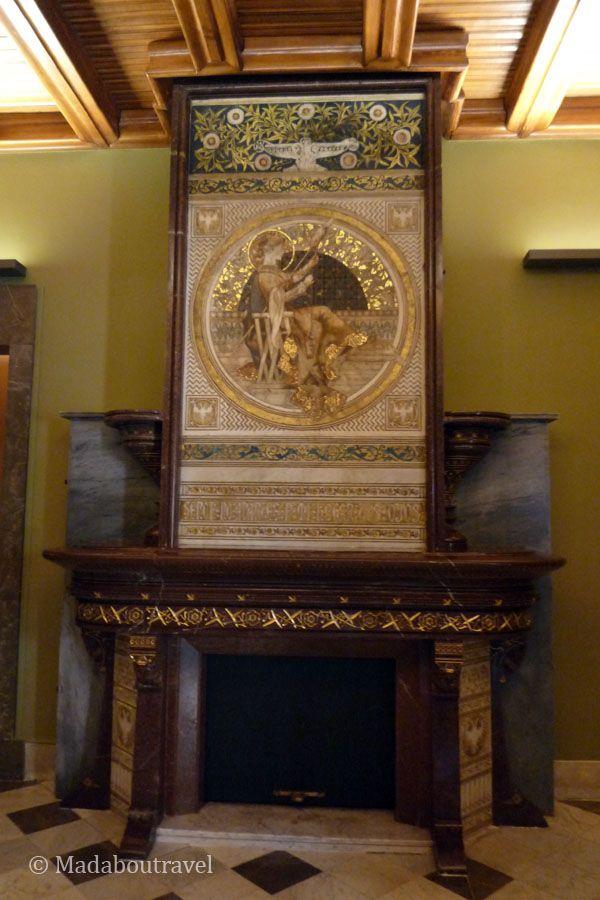 Detalle de las habitaciones de la familia Güell en el Palau Güell