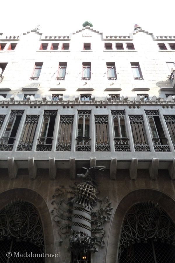 Fachada del Palau Güell