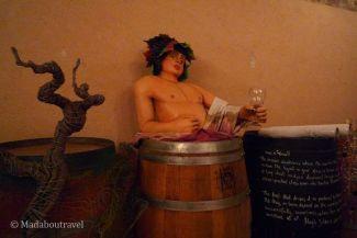 Botas de vino decoradas