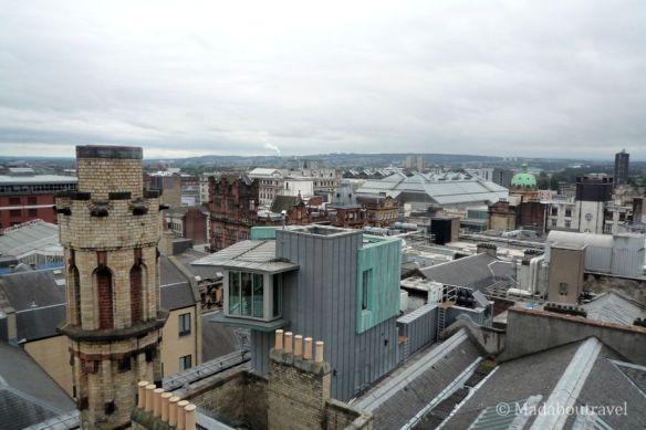 que ver en Glasgow: vistas desde la torre de The Lighthouse