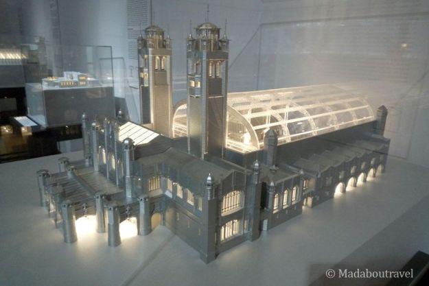 Proyecto para una estación de tren de Mackintosh