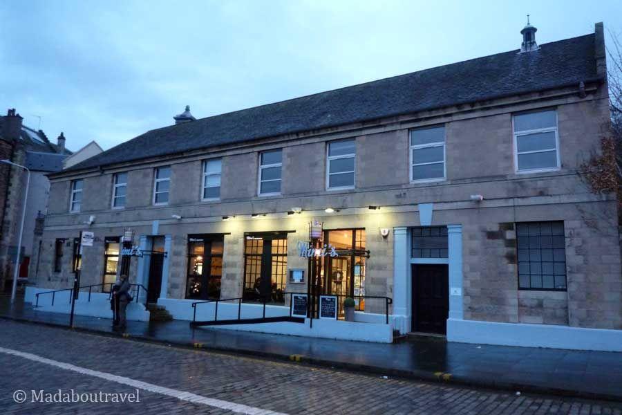 Exterior de Mimi's Bakehouse en Leith