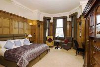 Una de las habitaciones del Scotsman Hotel