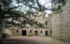 Patio interior de Craigmillar