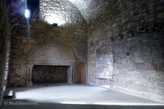 Gran salón del castillo de Craigmillar