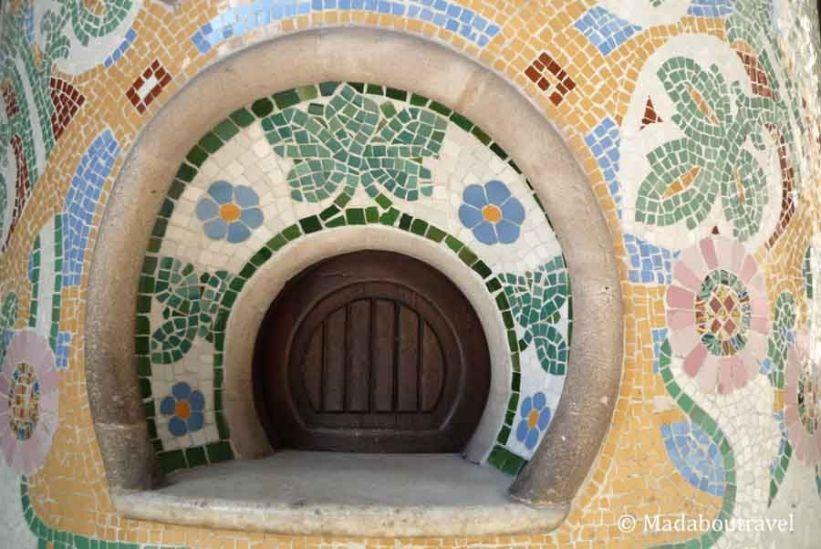 Antiguas taquillas modernistas del Palau de la Música