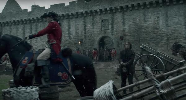 castillo de craigmillar en outlander