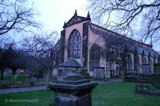 La iglesia de Greyfriars