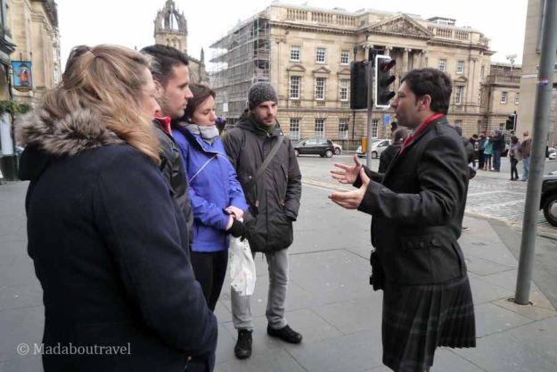Tour por Edimburgo