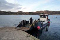 A punto para embarcar en el ferry de Kerrera