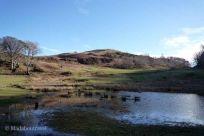 Terrenos del castillo de Dunollie