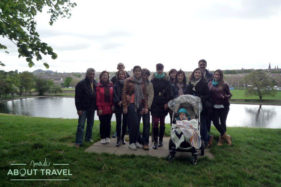 Foto de grupo en Inverleith Park