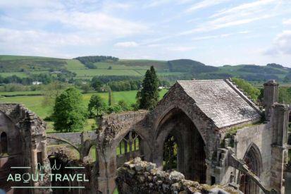 Abadía de Melrose en los Borders de Escocia