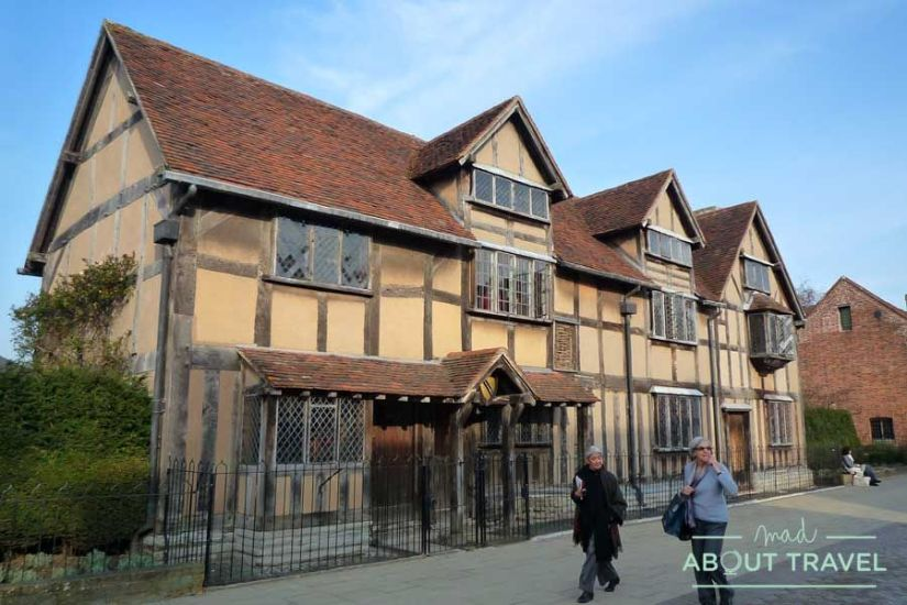 Hogar natal de William Shakespeare en Stratford Upon Avon