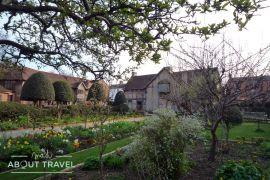 El jardín de la casa de Shakespeare