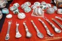 Más objetos de cerámica en la Feria de Artesanos
