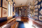Galería de la Porcelana en el Castillo de Alnwick en Nortumbria, Inglaterra