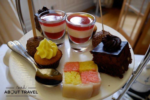 Afternoon tea en el hotel Scotsman