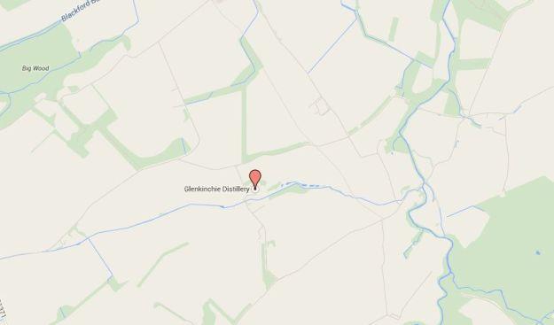 Cómo llegar a la destileria de Glenkinchie