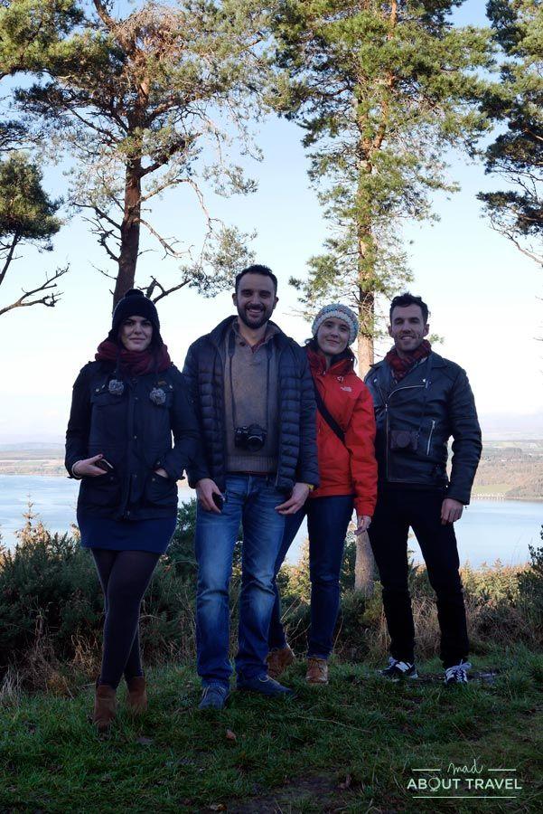 Igers en Craig Phadrig en Inverness