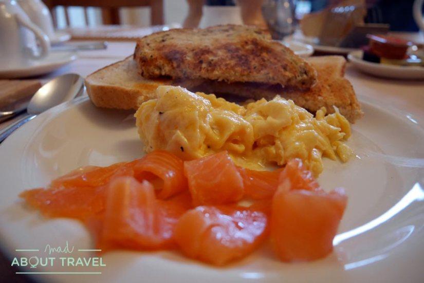 Desayuno en Craigside Lodge Guesthouse