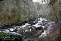 El río Braan en el Hermitage de Dunkeld