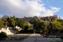 Agora Antigua en Atenas