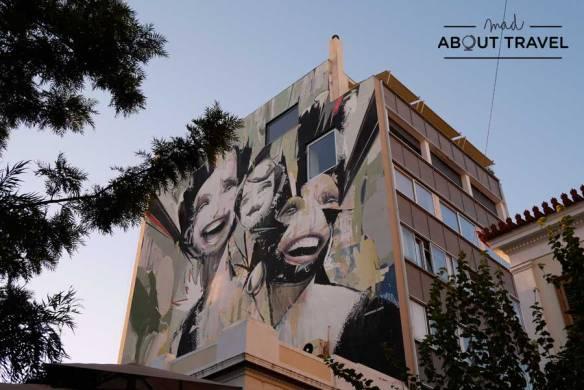 Grafiti en Atenas