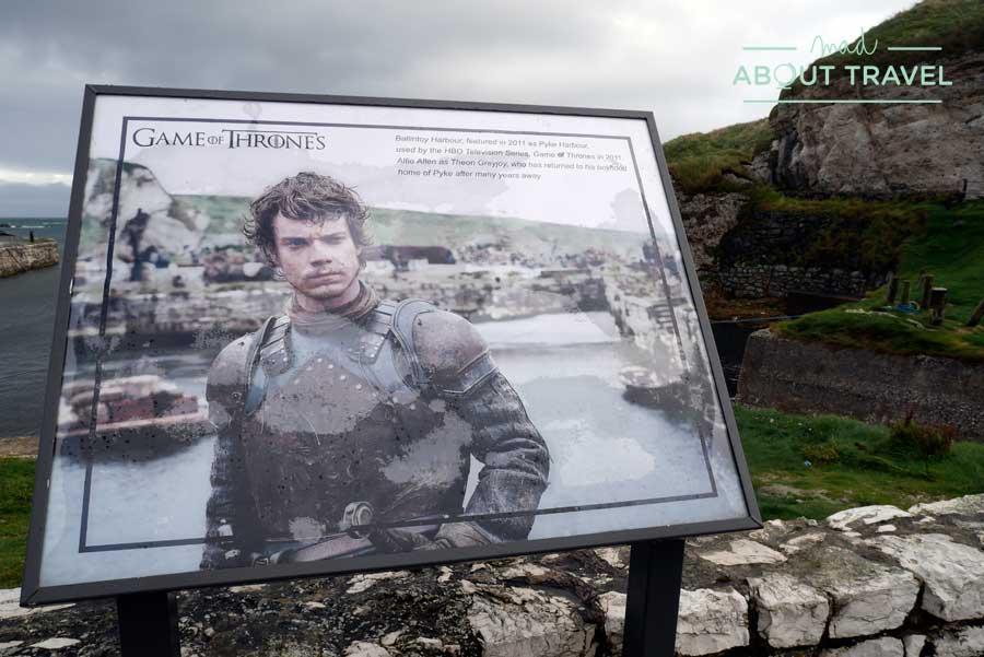 Imagen de Juego de Tronos en el Puerto de Ballintoy
