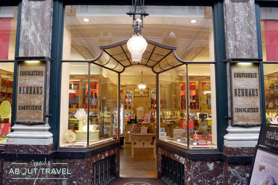 Chocolatería en Bruselas