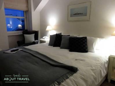 Mi habitación en el Glenisle Hotel en Lamlash en la isla de Arran
