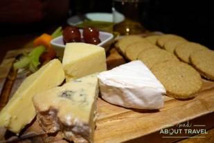 Cena en el Glenisle Hotel en Lamlash la isla de Arran