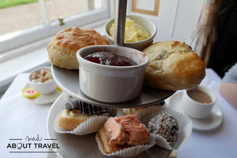 Afternoon tea en el Melville Castle
