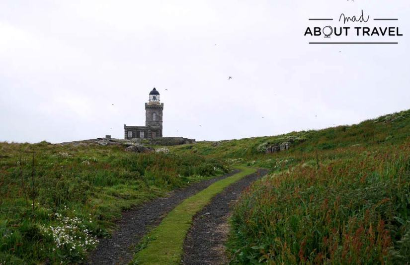 senderismo en la Isle of May