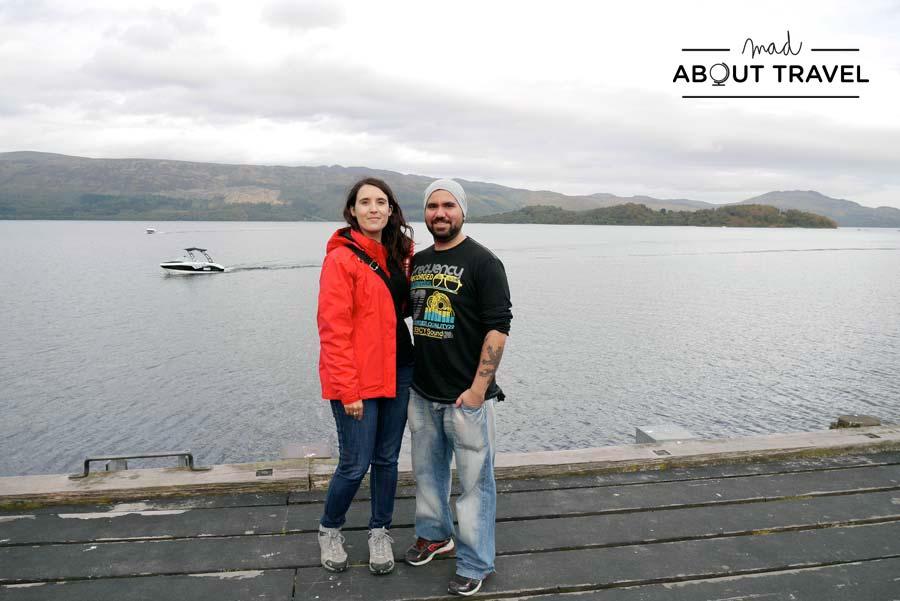 Con Antonio en Luss