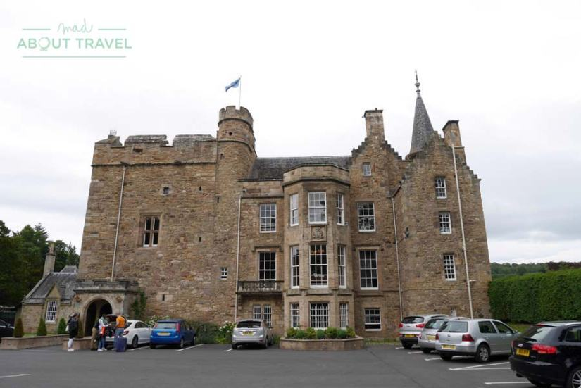 Dormir en un castillo en Escocia, Carberry Tower