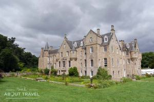 Carberry Tower, dormir en un castillo en Escocia