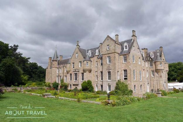Carberry Tower, dormir en un castillo en Escocia