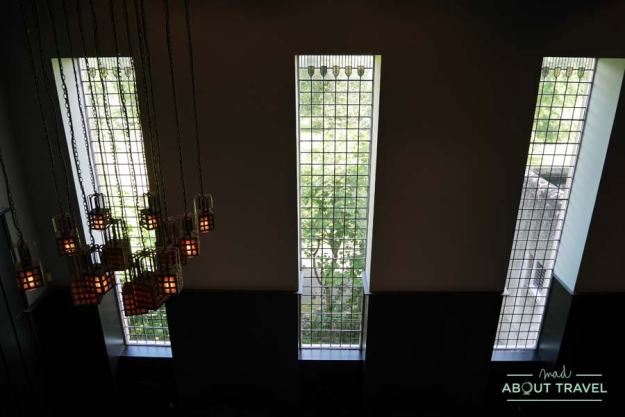 Interior de la House for an Art Lover de Mackintosh en Glasgow