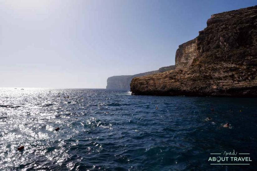 Costa de Xlendi en Gozo, malta