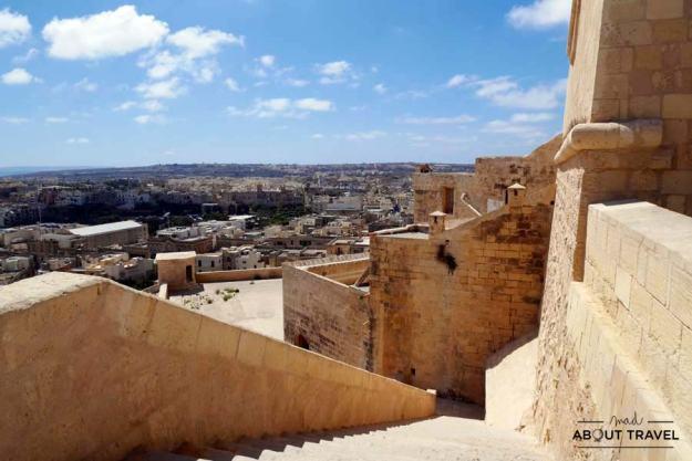 Fortaleza de Il-Kastell en Victoria, Gozo