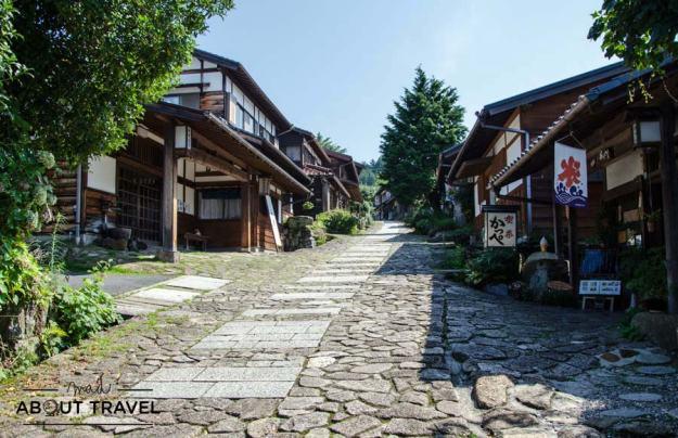Pueblo de Magome en el valle del Kiso, Ruta del Nakasendo Japón