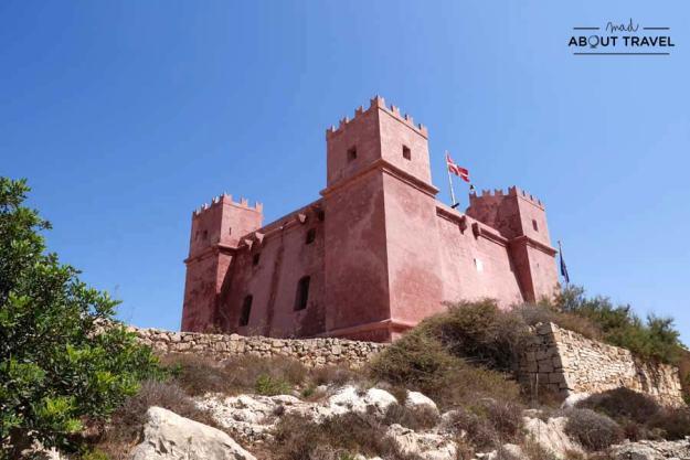 Torre Roja en Malta