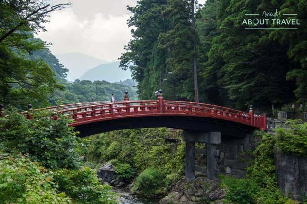 Puente en Nikko, Japón