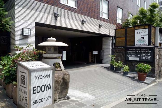 Hotel Edoya en Tokio, Japón