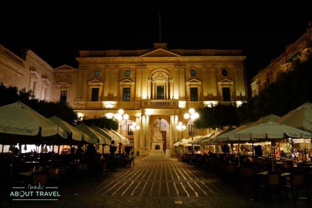 Kantina Caffé en la Valleta Malta