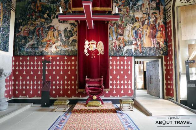 Tapiz del unicornio en el Palacio de Stirling