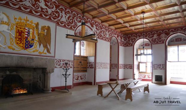 Interior del palacio de Stirling