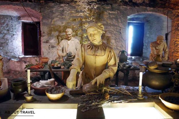 Grandes cocinas del Castillo de Stirling